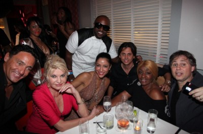 Ivana Trump, Rico Love, Jonathan Cheban, & Janice Combs