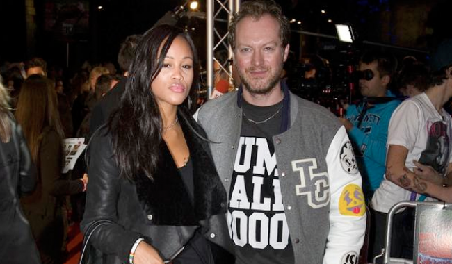 Family photo of the musician, married to Maximillion Cooper,  famous for Gansta Lovin