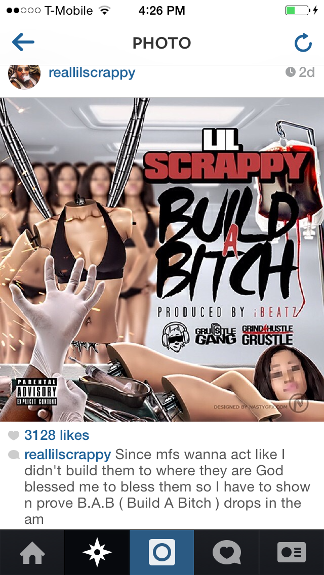 @ReallilScrappy not so subliminal shot