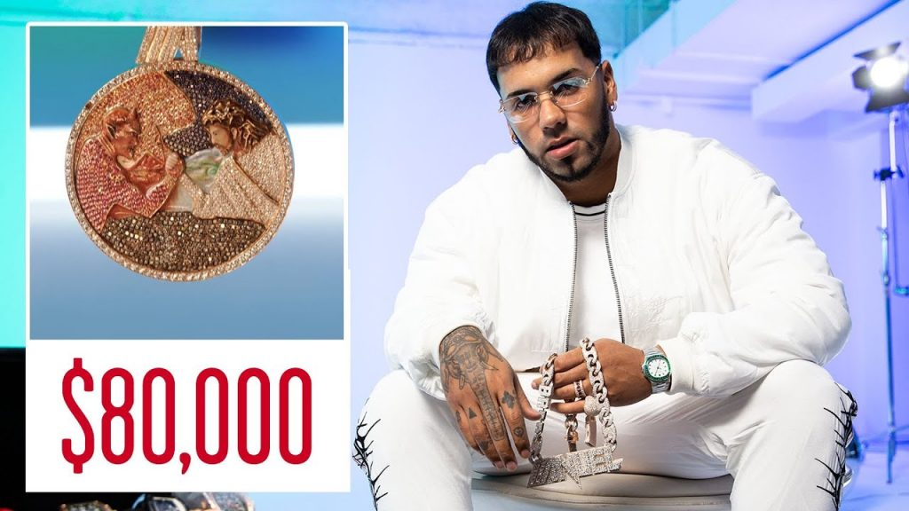 Gucci Link Chain >> Anuel AA Shows Off His Insane Jewelry Collection | GQ ...