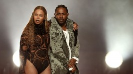 """Beyonce, And, Kendrick Lamar, Perform, """"Freedom"""", At The 2016, BET Awards"""