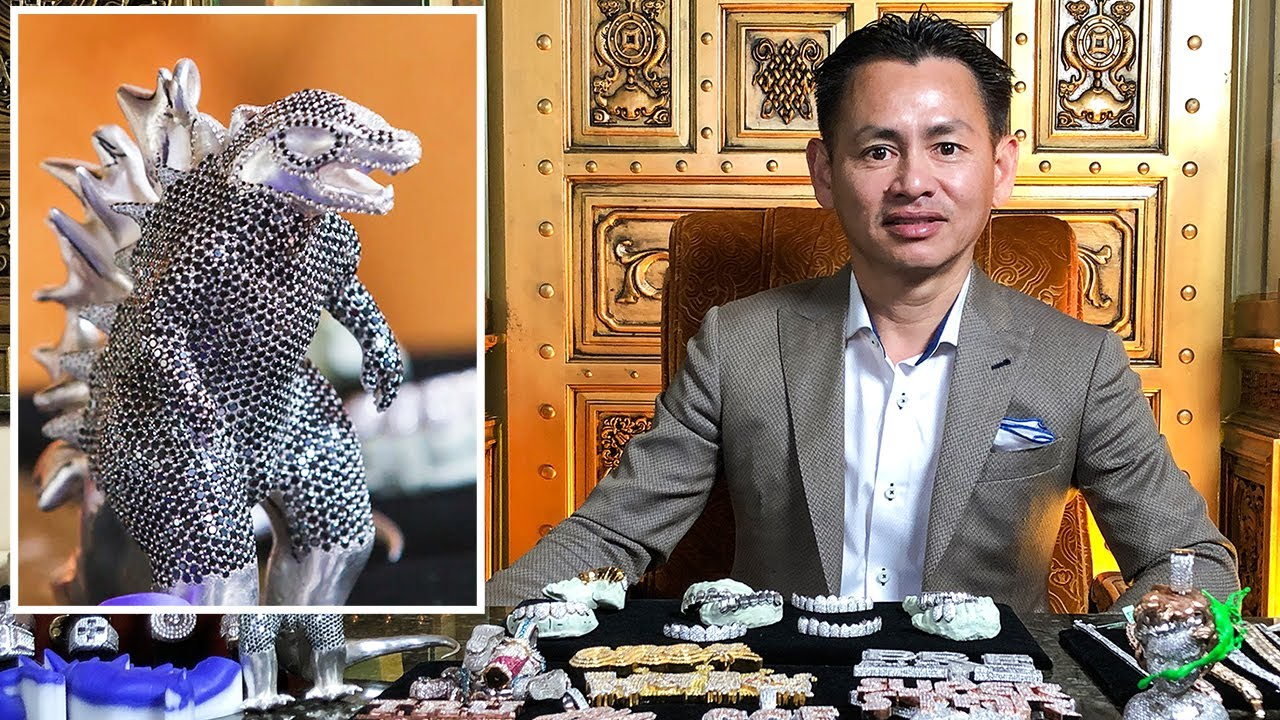 Expert Jeweler Johnny Dang Shows off his Insane Jewelry Inventory